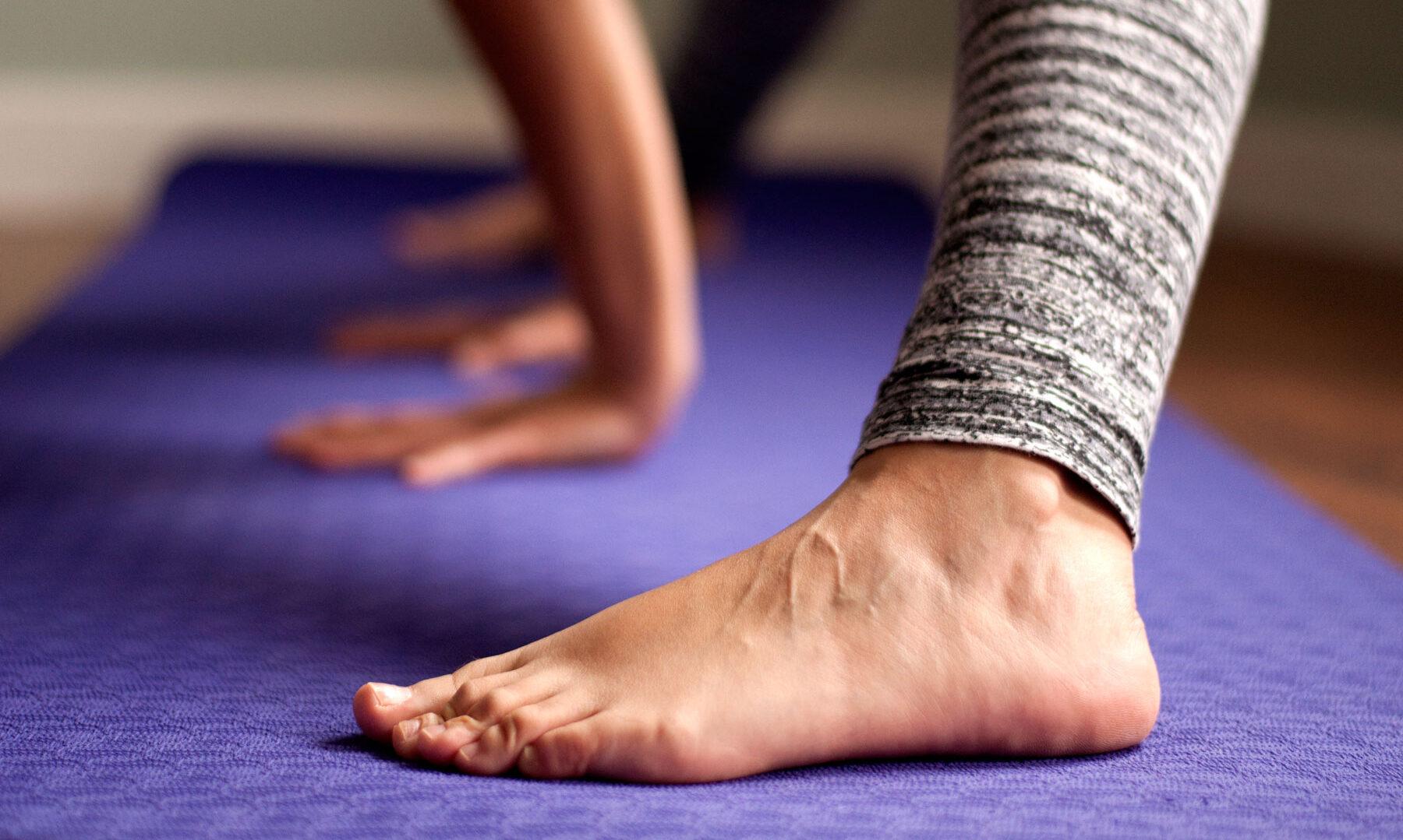 primera clase de yoga