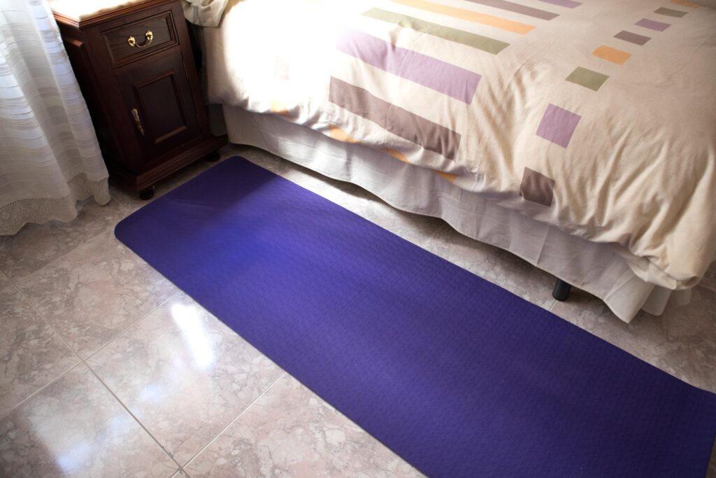 Esterilla yoga en casa