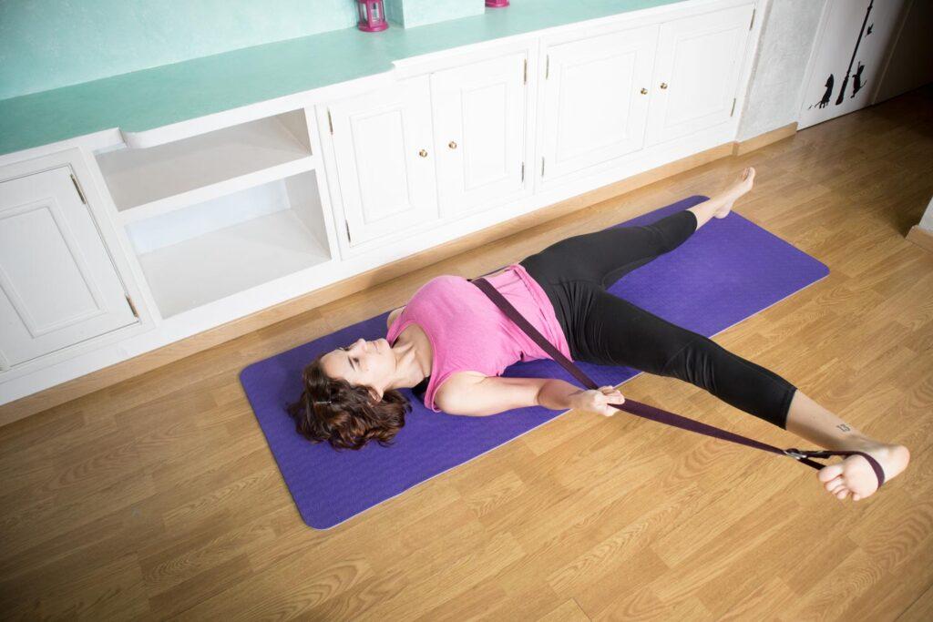 Postura tendida del pulgar del pie