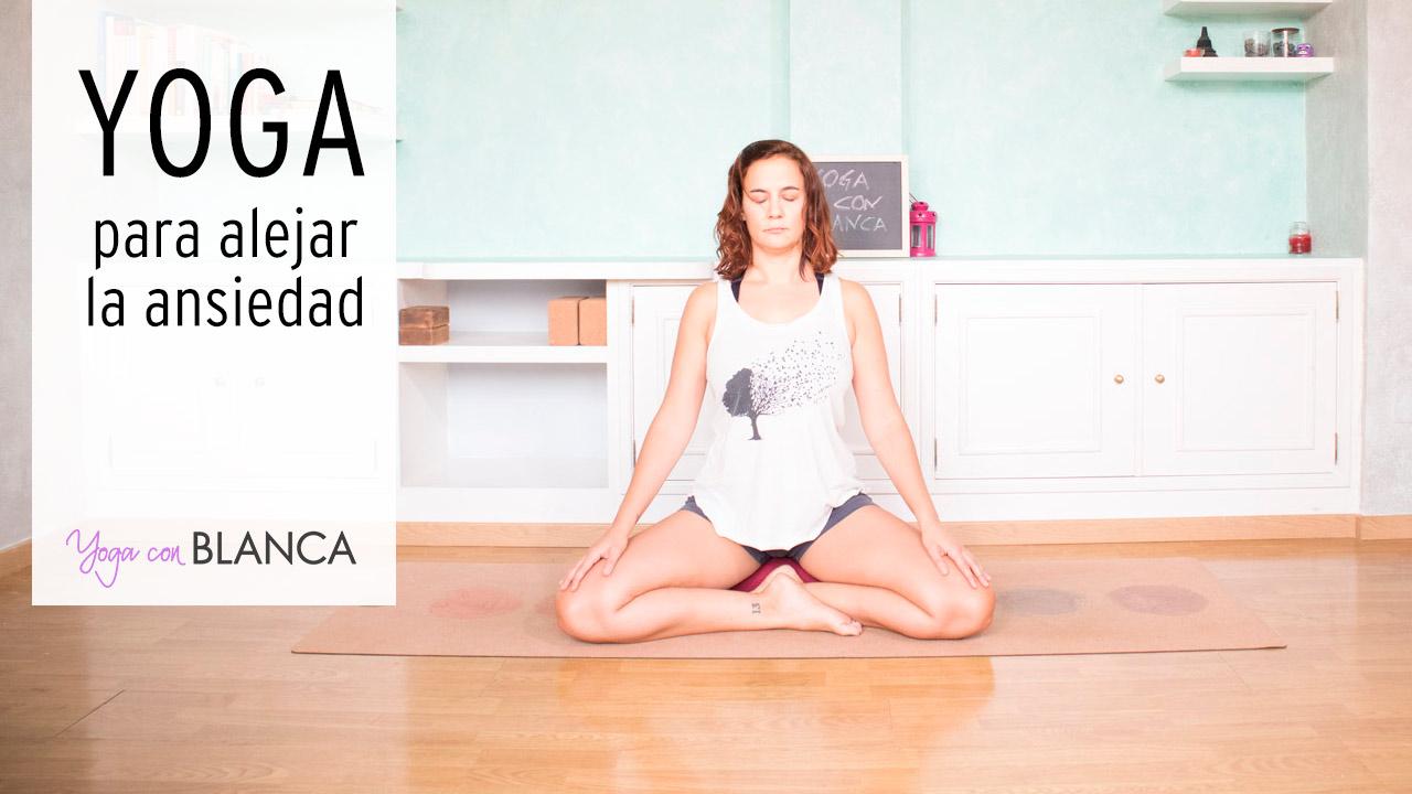 Portada Yoga para alejar la ansiedad