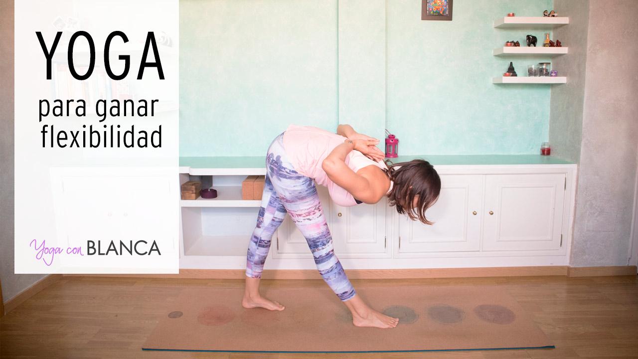 Portada yoga para ganar flexibilidad