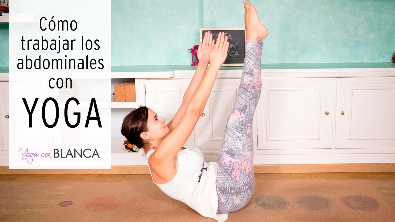 Portada trabajar abdominales con yoga